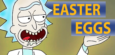 Easter Eggs in Rick and Morty
