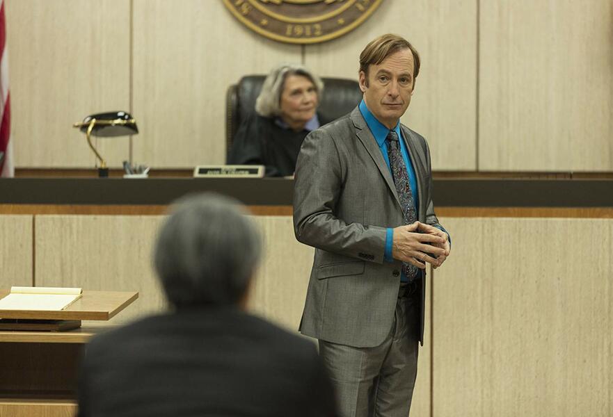 Better Call Saul - Staffel 5, Better Call Saul mit Bob Odenkirk und Frances Lee McCain