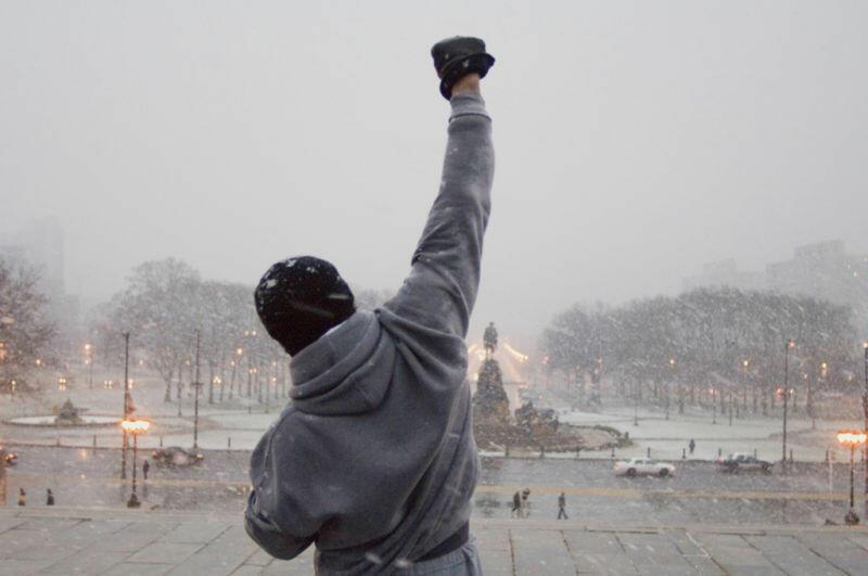Rocky Balboa mit Sylvester Stallone