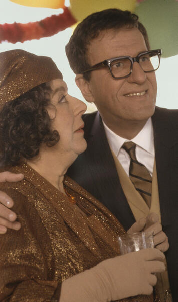 The Life and Death of Peter Sellers mit Geoffrey Rush und Miriam Margolyes