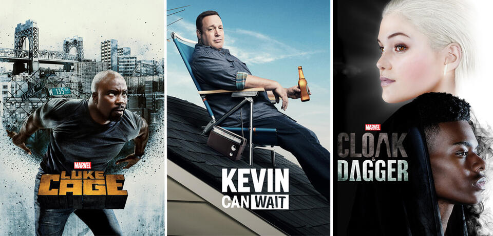 Marvel's Luke Cage/Kevin Can Wait/Marvel's Cloak and Dagger