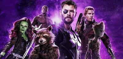 Guardians mit Thor