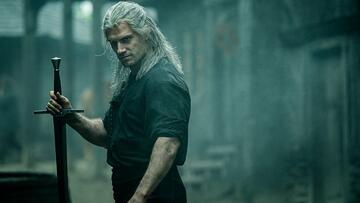 Henry Cavill als Geralt von Riva in The Witcher
