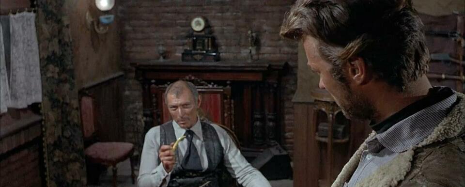 Für ein paar Dollar mehr mit Clint Eastwood und Lee Van Cleef