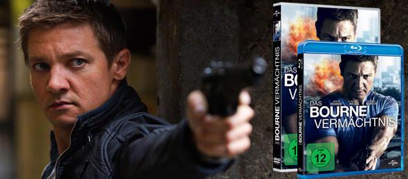 Jeremy Renner als Agent Aaron Cross. Passt!