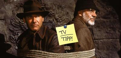 Harrison Ford und Sean Connory in Indiana Jones und der letzte Kreuzzug