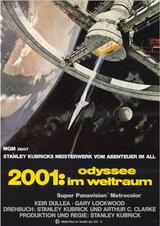 2001: Odyssee im Weltraum - Poster
