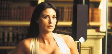 Monica Bellucci in Matrix Reloaded