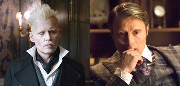 Bösewichte: Johnny Depp als Grindelwald / Mads Mikkelson als Hannibal