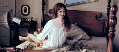 Linda Blair in Der Exorzist von William Friedkin