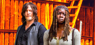 Daryl und Michonne in The Walking Dead