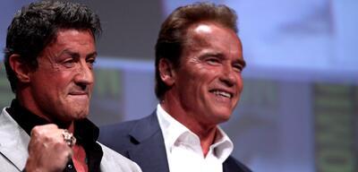 Stallone und Schwarzenegger auf der San Diego Comic-Con 2012