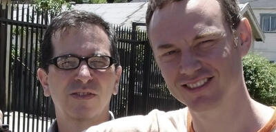 Richard Glatzer undWash Westmoreland