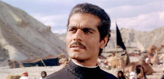 Omar Sharif in Lawrence von Arabien