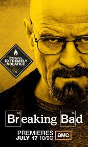 Breaking Bad Staffel 4 - Poster