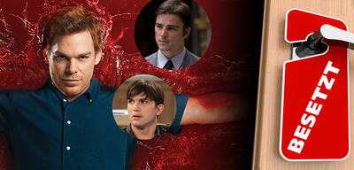 Michael C. Hall in Dexter / Ashton Kutcher in Two and a Half Men / Josh Hartnett in August