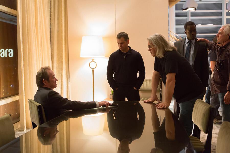 Jason Bourne mit Matt Damon und Paul Greengrass