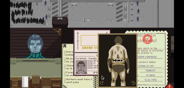 Vorerst kein Papers, Please für den App-Store