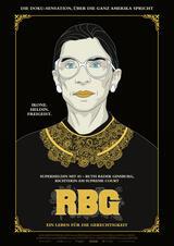 RBG - Ein Leben für die Gerechtigkeit - Poster