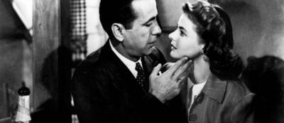 Humphrey Bogart & Ingrid Bergman in Casablanca