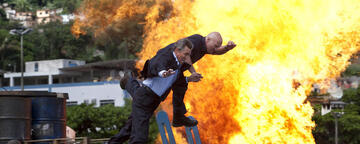 Brachiale Action in The Expendables