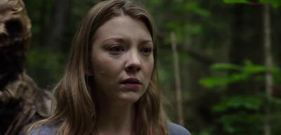 Hinter ihr lauert der Schrecken: Natalie Dormer in The Forest.