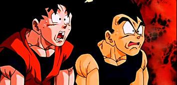 Bild zu:  Son-Goku und Vegeta