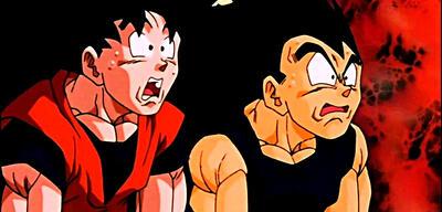 Son-Goku und Vegeta