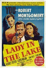 Die Dame im See - Poster