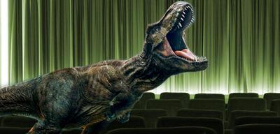 Abspannsitzenbleiberin: Rexy in Jurassic World 2: Das gefallene Königreich