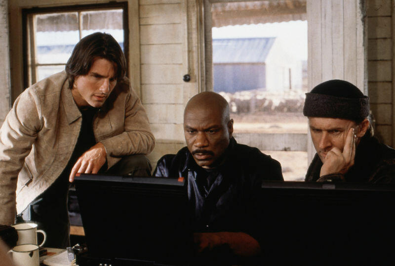 Mission: Impossible 2 mit Tom Cruise, Ving Rhames und John Polson
