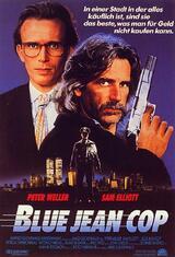 Blue Jean Cop - Poster