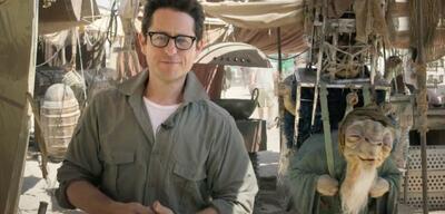 J.J. Abrams am Set von Star Wars