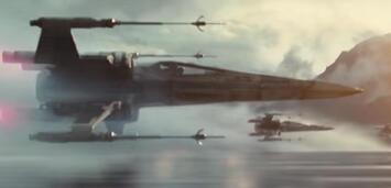 Bild zu:  Die X-Wings im Star Wars 7-Teaser