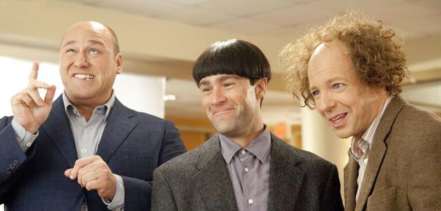 Will Sasso, Chris Diamntopoulos und Sean Hayes in Die Stooges