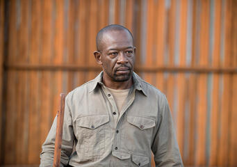 Morgan (Lennie James), die Ruhe in Person