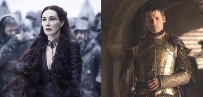 Carice van Houten und Nikolaj Coster-Waldau in Game of Thrones