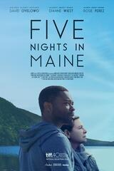 Five Nights in Maine - Poster