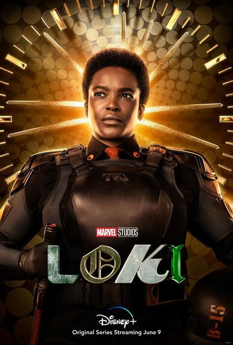 Loki, Loki - Staffel 1 mit Wunmi Mosaku