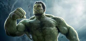 Bild zu:  Ganz grün vor Ärger: Hulk