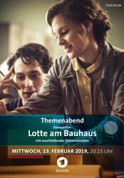 Lotte am Bauhaus Poster