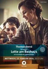 Lotte am Bauhaus - Poster