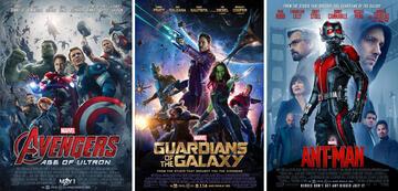 Avengers, Guardians und Ant-Man