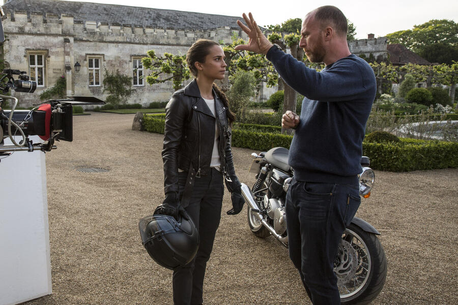Tomb Raider mit Alicia Vikander und Roar Uthaug