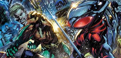 Auch Aquaman braucht einen Bösewicht - hier Black Manta