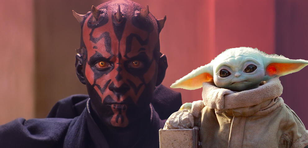 Baby Yoda & Darth Maul