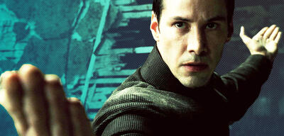 Keanu Reeves in Matrix Revolutions