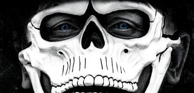 Gruselig: das IMAX-Poster für Spectre