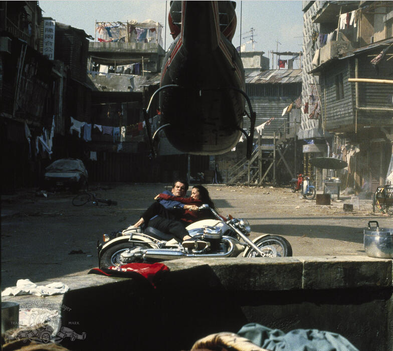 James Bond 007 - Der Morgen stirbt nie mit Pierce Brosnan und Michelle Yeoh