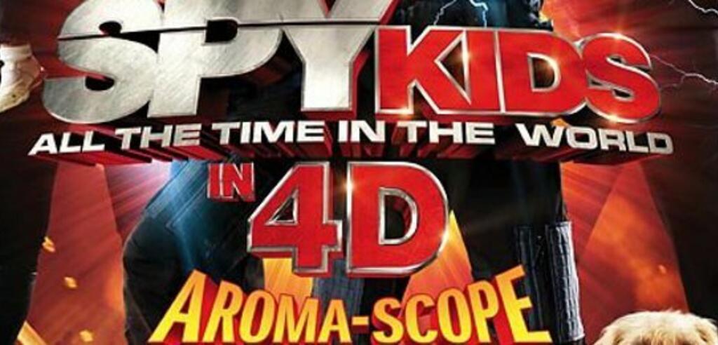 Spy Kids 4 kommt mit Aroma-Scope ins Kino
